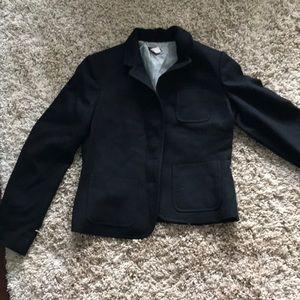 JCrew short wool coat